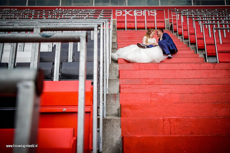 Trouwreportage PSV Stadion Eindhoven