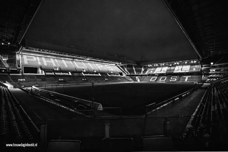 Trouwen in het PSV Stadion