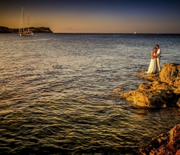 After wedding shoot Ibiza