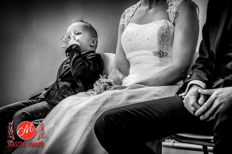 Twee fotografen op een trouwdag