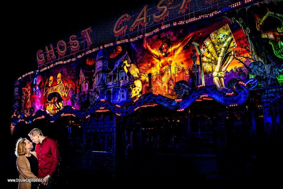 Ghost Castle Kermis Helmond loveshoot