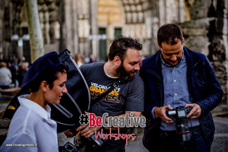 Workshop Flitsen met een Reportageflitser