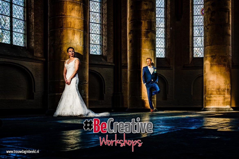 Workshop bruidsfotografie met bruidspaar