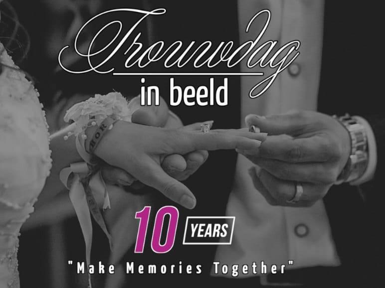 10 Jaar Trouwdag in Beeld