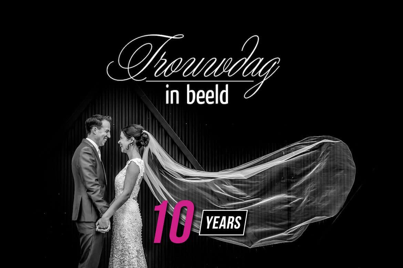 10 Jaar Bruidsfotograaf Trouwdag in Beeld - Ongedwongen bruidsfotografie in een creatieve en journalistieke stijl.
