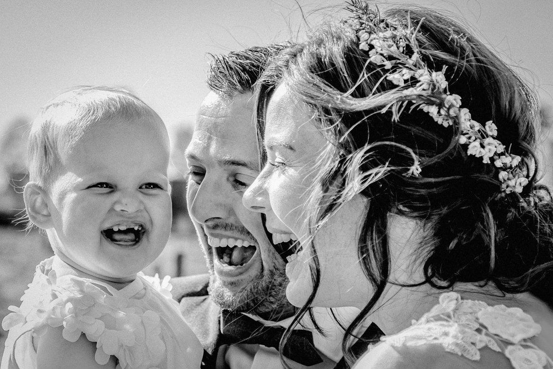 Ongedwongen trouwfotograaf voor echte momenten