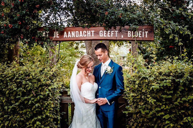 Trouwfotograaf Kasteel Woerden Trouwdag in Beeld - Bruidsfotografie
