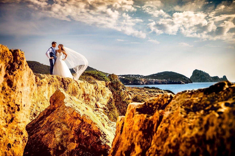 Ibiza Destination Wedding Buitenland bruiloft Portfolio Bruidsfotograaf Trouwdag in Beeld Trouwen