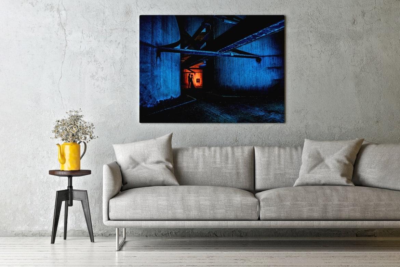 Wall-Art Trouwfoto aan de muur