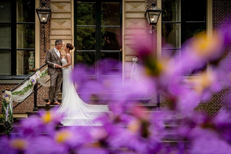 Bruidsfotograaf Kasteel Oud-poelgeest Oegstgeest Trouwdag in Beeld - Bruidsfotografie