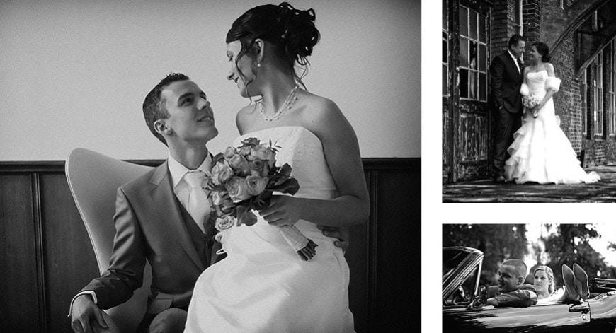 Ongedwongen bruidsfotografie