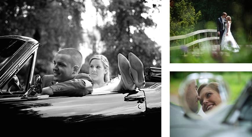 Ongedwongen trouwfotografie